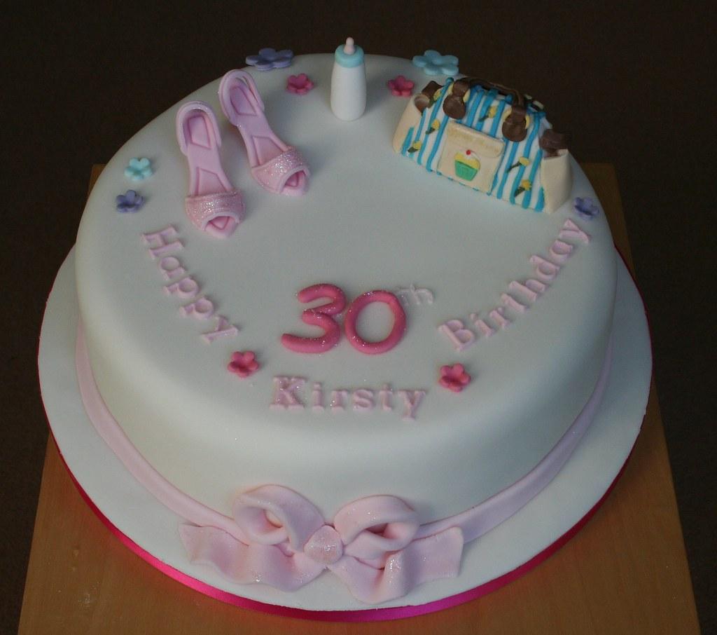 Yummy Mummy 30th Birthday Cake Janet Whitehead Flickr