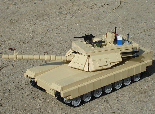 M1A1 Abrams V3 | by Brian's Bricks