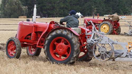 David Brown CropmasterTractor. | by Hugh McCall