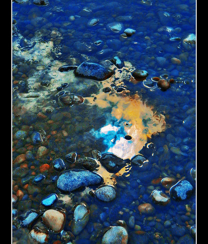 Mystical Reflection In Shallow Stream | by LostMyHeadache: Absolutely Free *