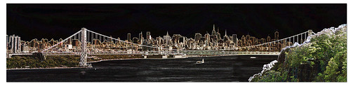 New York City And George Washington Bridge Panorama | by Supremecourtjester