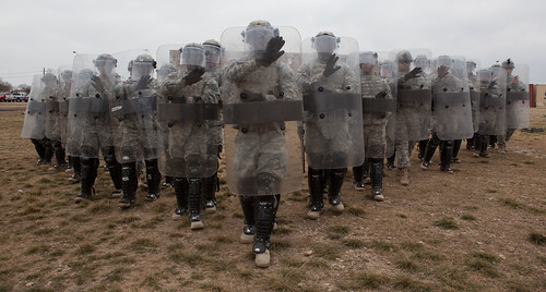 Riot Control Formation | by The U.S. Army