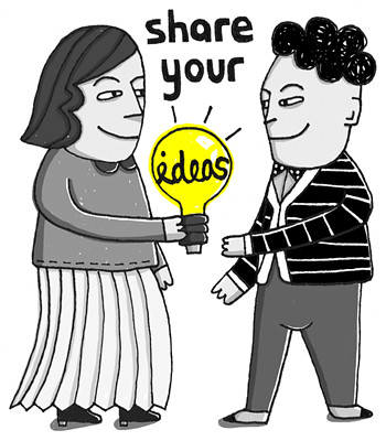 1 share your ideas of taking