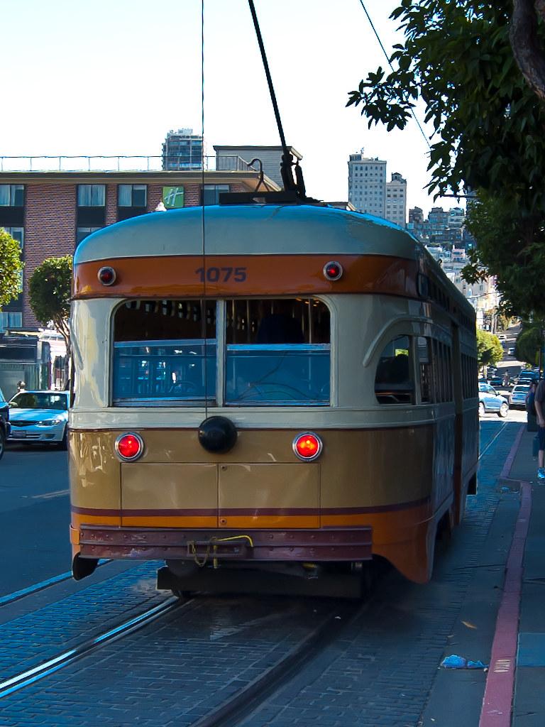 USA / California / San-Francisco / Orange Tram 02
