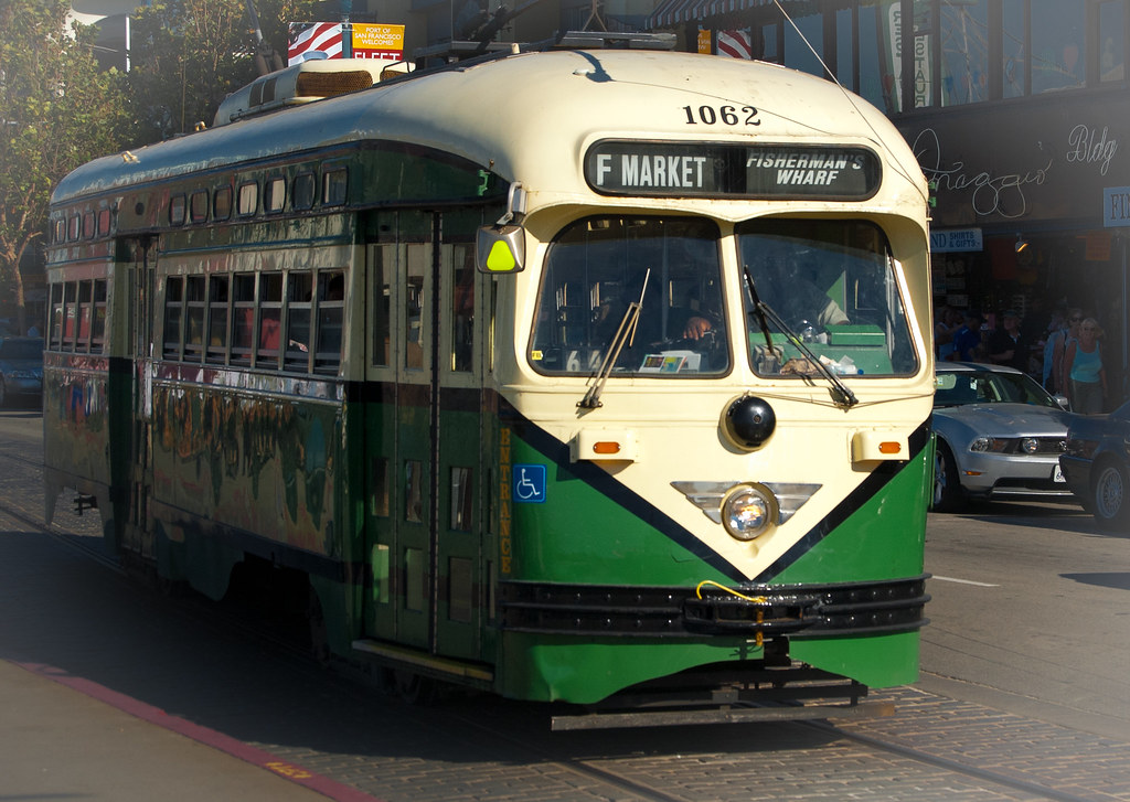 USA / California / San-Francisco / Green Tram 01