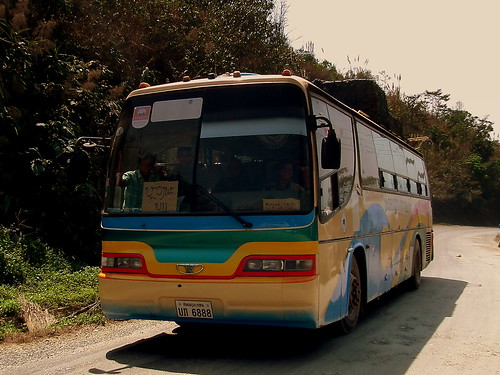 BUS JOURNEY FROM LUANG PRABANG TO VIENTIANE LAOS FEB 2012 | by STEPHEN J MASON PHOTOGRAPHY