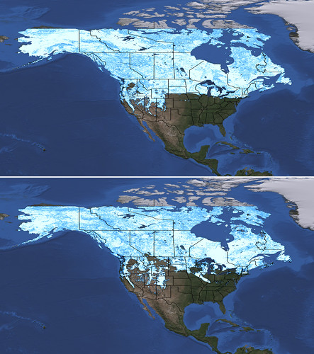 End of Winter: How 2012 Snow Stacks Up | by NASA Goddard Photo and Video