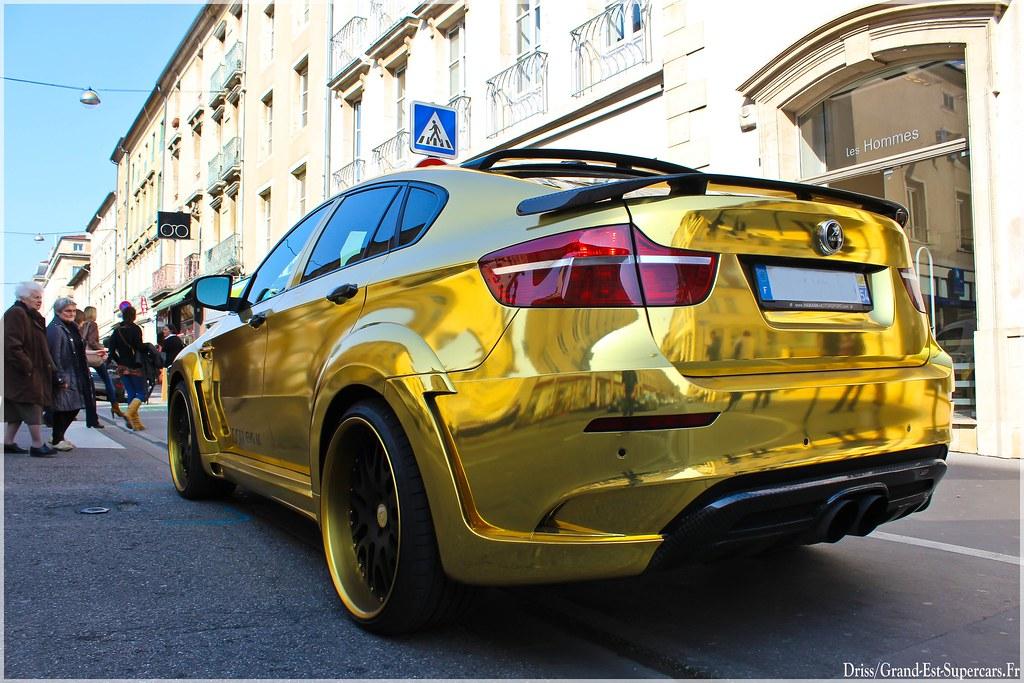 Bmw X6 Hamann Tycoon Evo M Gold G E Supercars Flickr