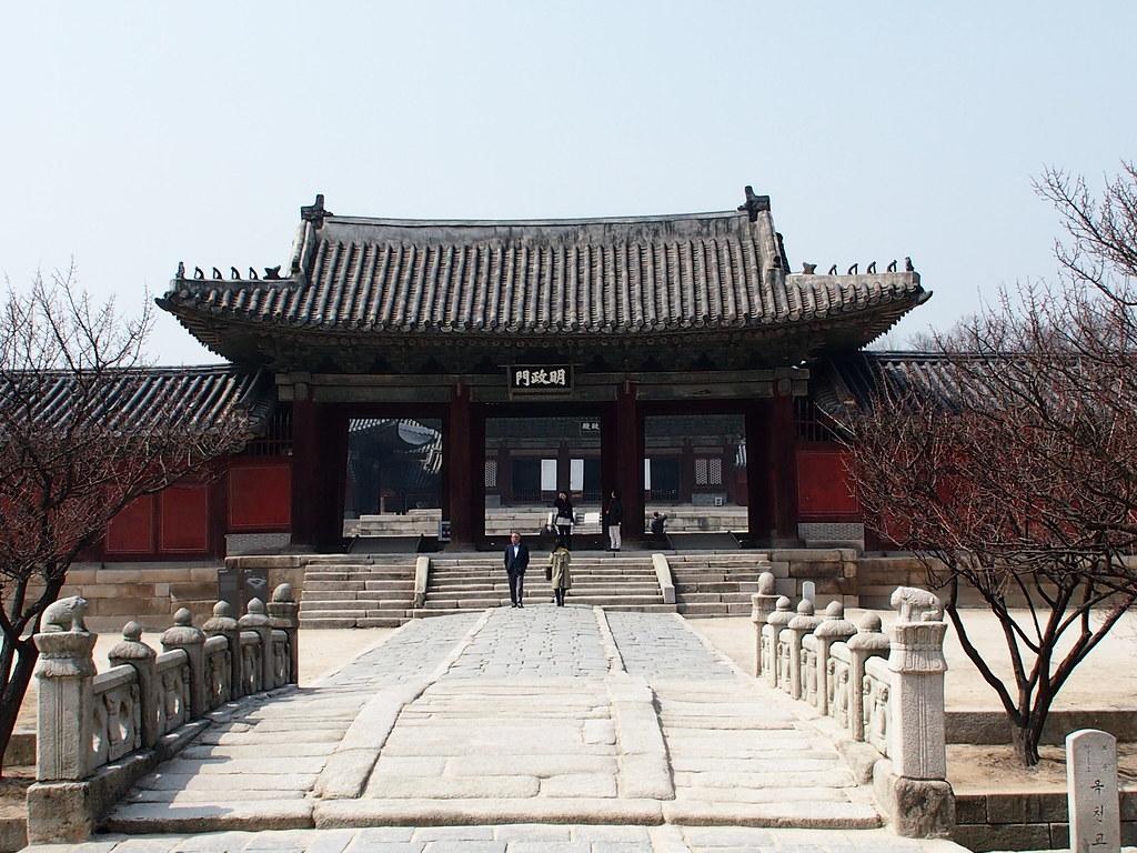 Corea del Sur. Seúl. Templos Reales