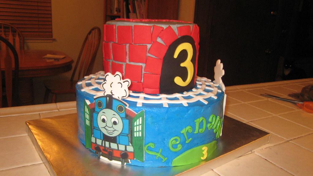 Thomas The Train By Kathy J Birthday Cakes 4 Free Provides Flickr