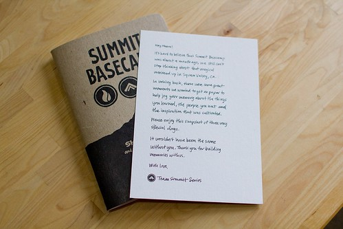 Summit Basecamp: Sketchnote Note & Booklet | by Mike Rohde