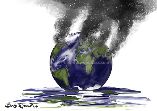 Earth_melting | by Bob Row