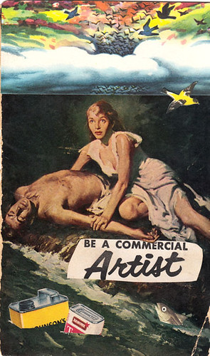 be a commercial artist | by b.collages