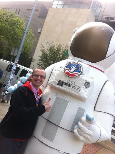 Me and an astronaut | by Ben Terrett