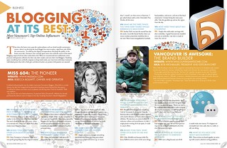 Featured in Vancouver View Magazine with Bob and Karm. May issue is out now - pick up a copy in stores. | by miss604