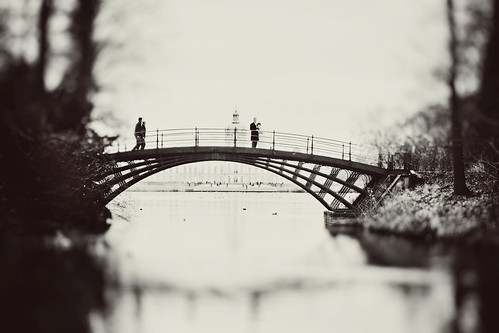 Bridge in Charlottenburg Palace Park, Berlin | by Yuliya Bahr