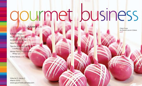 Gourmet Business Cover 2012 | by Sweet Lauren Cakes