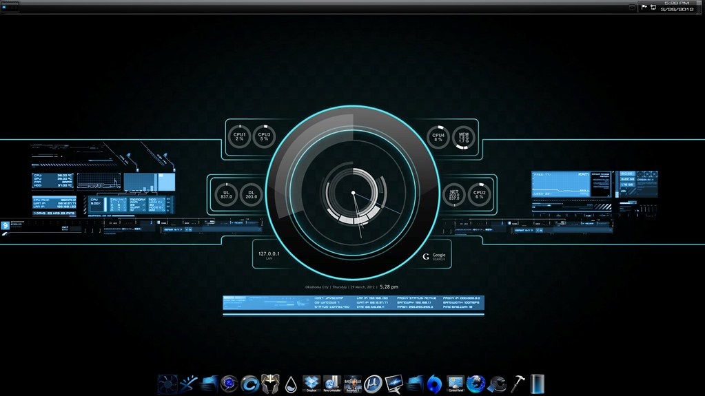 TronmeterGUI | This is my current GUI setup  It uses a custo