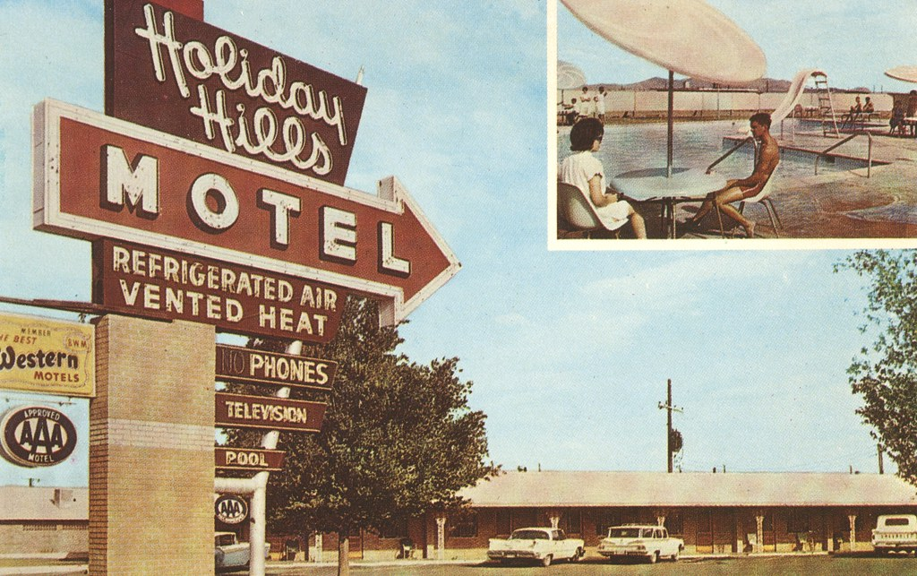 Holiday Hills Motel - Van Horn, Texas