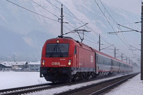 A ÖBB 1216 022 Vomp 14-02-2012 | by peters452002