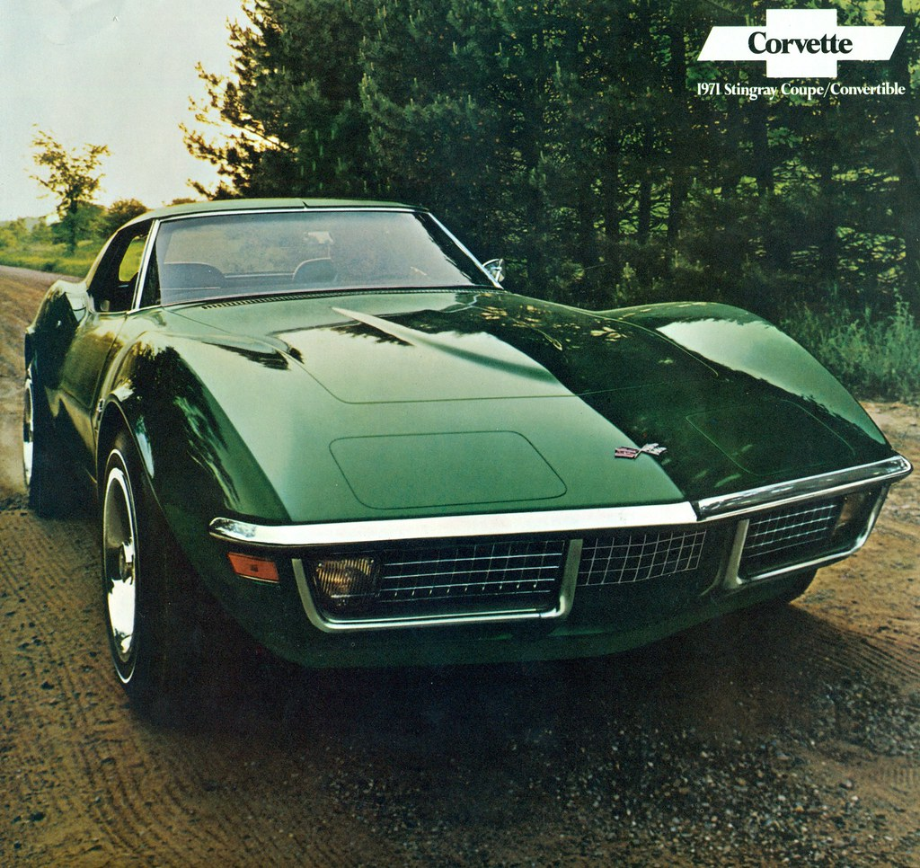 1971 Chevrolet Corvette Stingray Coupe Coconv Flickr 1954 Chevy By