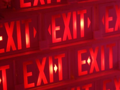 Illuminate Yaletown Exit