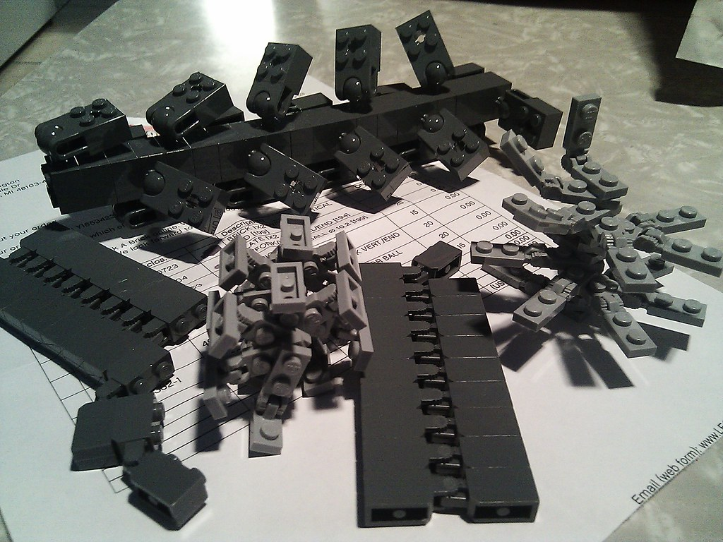 Robot parts | Lego special order  More mecha, coming right u