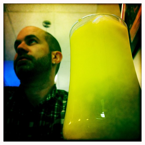now that's a mango lassi | by Schmutzie