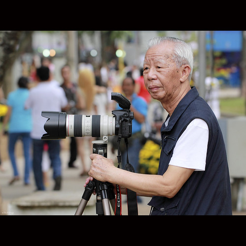 Old photographer | by -clicking-