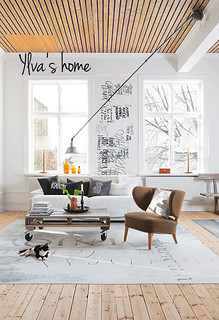 ylva's home in sweden | by the style files
