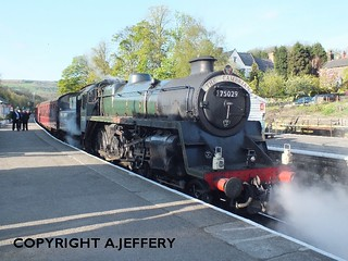 75029 'Greene Knight' at Grosmont - 05.05.12 | by 51C Monkey Madness