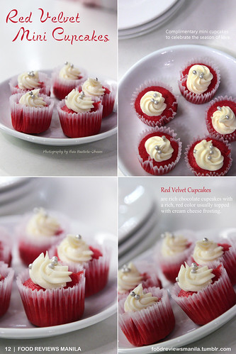 Red Velvet Mini Cupcakes from Kulinarya | by FRM Tumblr Magazine
