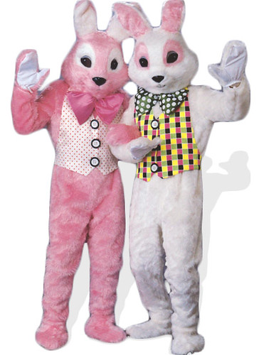 Easter Bunny Mascot Costume | by HalloweenFashion