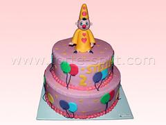 klaun za rođendan split Torta za dječiji rođendan Split | Klaun Bumba torta | Tina Torte  klaun za rođendan split