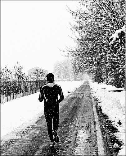 Winter Running | by peggylmalone
