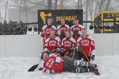 Big Red Machine - West Wadsworth Champions (2) | by irhcbroomball