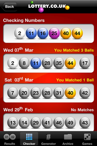 Lotto Results | Won £10 on last night's Lotto results woo ...