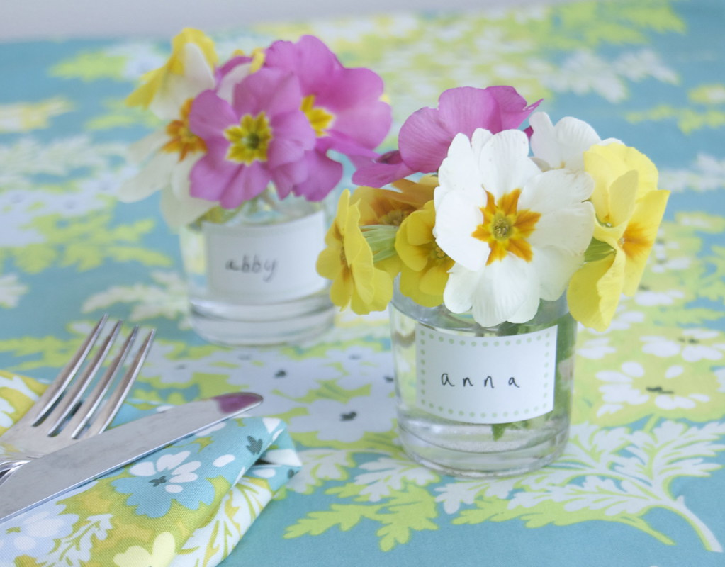 ... Flower Posies on a spring table ideas for easter table setting from Chelsea Fuss | by  sc 1 st  Flickr & Flower Posies on a spring table ideas for easter table set\u2026 | Flickr