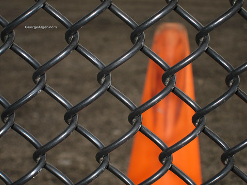 Black Fence and Orange | by GeorgeAlger.com