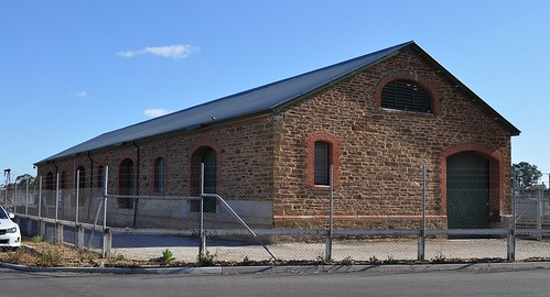 Gawler Goods Shed road side