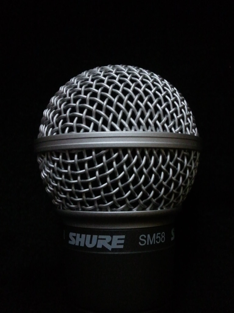 Shure SM58 microphone | Lauri Rantala | Flickr
