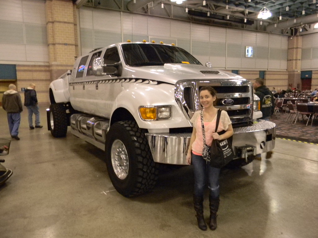Lauren With The Big Truck At Atlantic City Car Show Flickr - Atlantic city car show