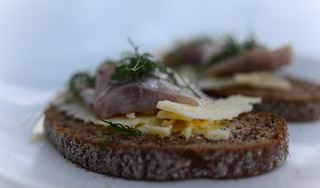 Febuary 24th - Pickled White Fish on Rye Bread | by The Hungry Cyclist