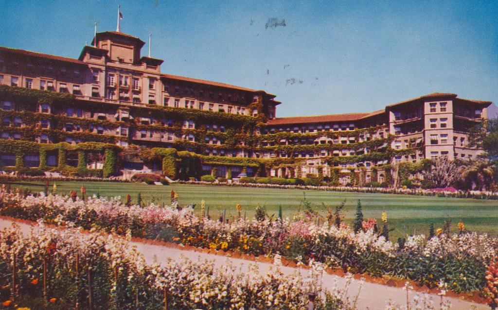 The Cardboard America Motel Archive The Huntington Hotel Pasadena California
