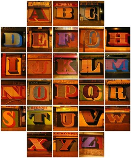 A Complete Alphabet of Eine's Shopfront Shutter Graffiti | by Dave Gorman