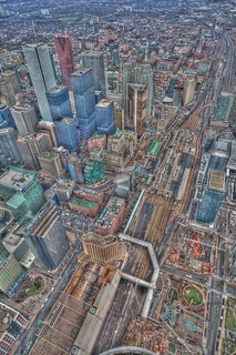 hdr view from CN Tower | by thehighfield