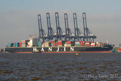 Hanjin Netherlands - IMO 9408841 | by mariafowler.co.uk