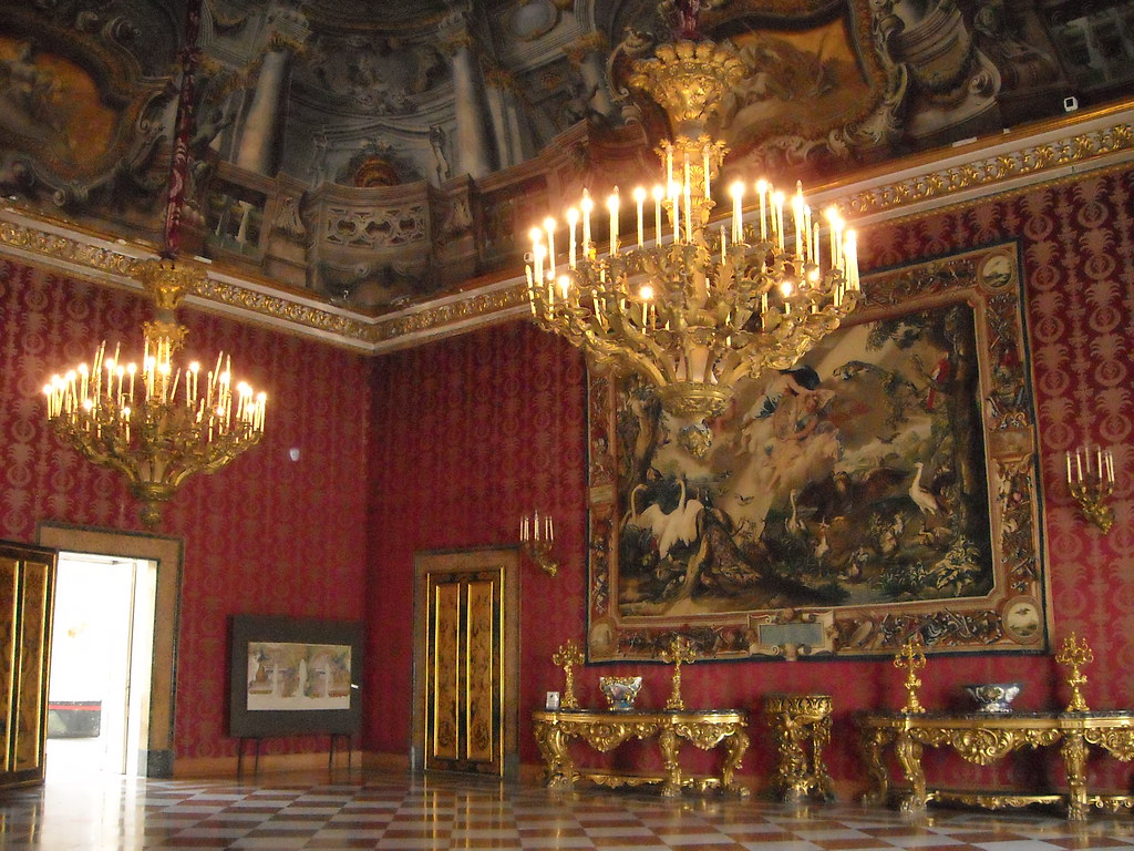 ... Royal Palace Of Naples: First Antechamber | By Carlo Raso