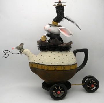 to the steam punk tea | by juliehaymakerthompson