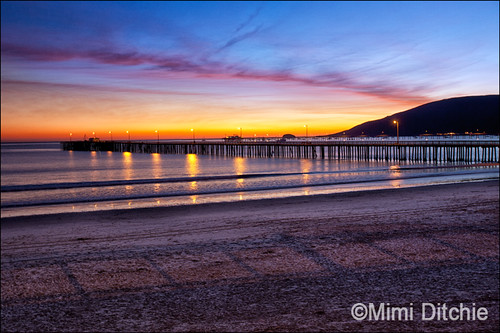 Sunset Over The Avila Bay | by Mimi Ditchie